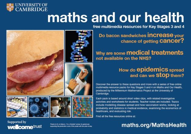 mathshealthposter